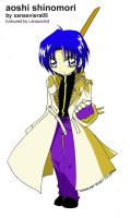 Aoshi by lenaorchid