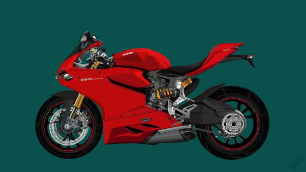 Ducati 1199 Panigale by khiunngiap