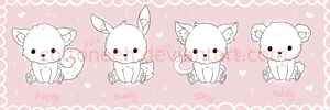 P2U Cute Baby Pet Base by Cottoneeh