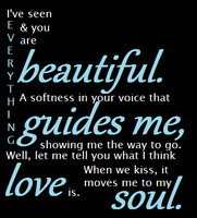 You are Beautiful Quote by supereilonwypevensie