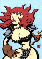 Red Sonja 4 by soliton