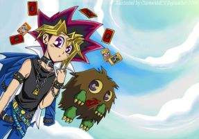 Lovely: Yugi and Kuriboh 4 Emi by CarmenMCS