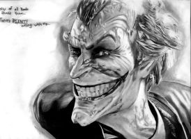 The Joker - Arkham City by Herrickk