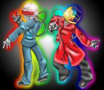 Daft Punk for carnival by spdy4
