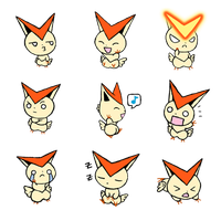 qt Emote Victini by Hazuza