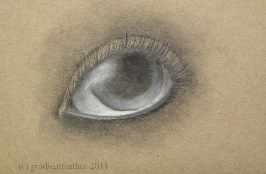Eye Experiment 3 by gradientfeather