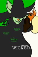 New Wicked Poster by Half-N-Half