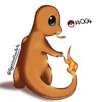 Charmander - Digital Doodle by RyanimationArts