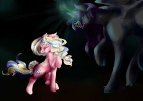 The battle of Darkness by Rosewend