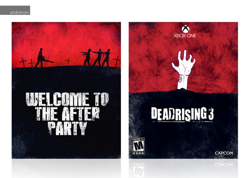 Dead Rising 3 Custom Cover Art by aldimon