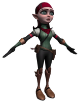 Ratchet and Clank: Into the Nexus - Talwyn Apogee by o0DemonBoy0o