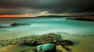An Aqua Dawn by MarkLucey