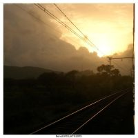 :India: Sunset on the way ... by nebpixel