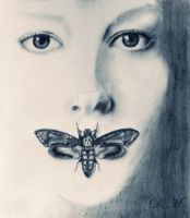 the silence of the lambs by MaatKaaRe