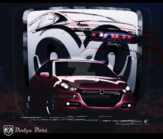 Dodge Inspired by Me Contest 2012_B by Yorzua