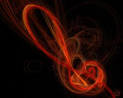 Music on Fire by laeriana