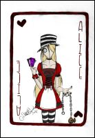 Alice Card by Cosmiksquirel