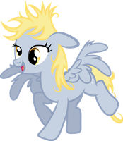 Post-toast Derpy by The-Mad-Shipwright