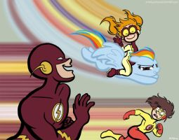 Flash Dash by CrackpotComics