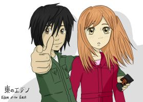 Eden of the East by thewaywardsoldier