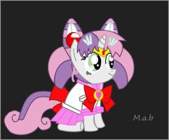Chibiusa Sweetie Belle by Mab1