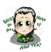 cute loki by MimaButtons