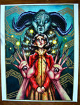 Pan's Labyrinth | Limited Edition Print (1) by leedawnillustration