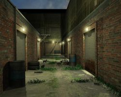 Alley Cats by GrahamSym