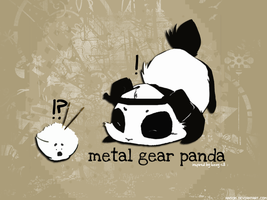 Metal Gear Panda by Ansom