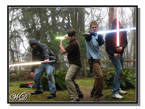 Jedi Will and Friends by WillFactorMedia
