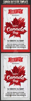 Canada Day Flyer Template by Hotpindesigns
