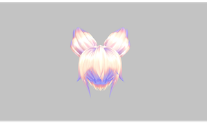 MMD PIKA Hair by amiamy111