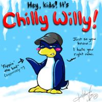 Chilly Willy -laughs- by otakukitty