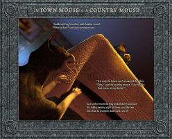 The Town Mouse and the Country Mouse 3/4 by falsedelic