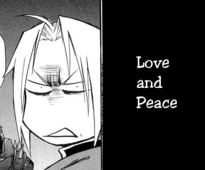 Love and Peace by metalalchemist99