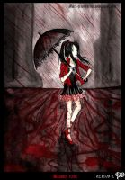 Bloody rain by Leoverde