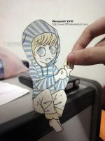 MBLAQ Seungho the Paper Child. by wsa109