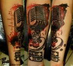 Old microphone,One way... by Pedi