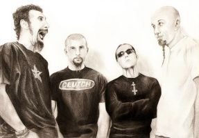 System Of A Down by Marvolo-san