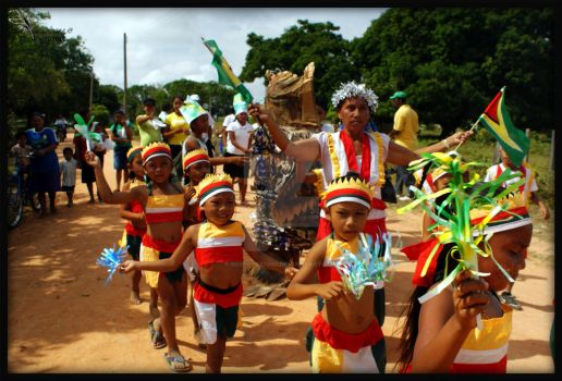 Children Parading by DeepEyes1000