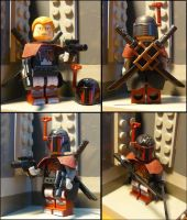Custom Lego elite mandalorian warrior minifig by AraxussYexyr