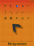 Shvag- simple, static cursors. by tchiro