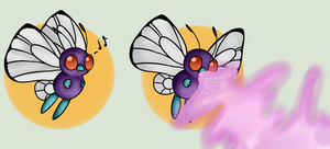 Payment to Krisander - Honey learns Psybeam by poketmon