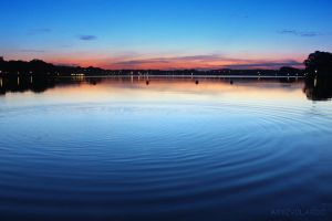 Ripples of color. by Amizyolaroid