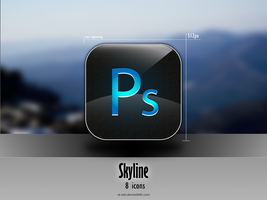 Skyline Adobe Icons by AL-Arts