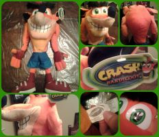 ( Crash Bandicoot ) 24 Inch Play by Play Plush by KrazyKari