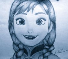 Anna by Drawdisney7