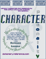 Character - What Is It? by AsheliaLilithCrosse
