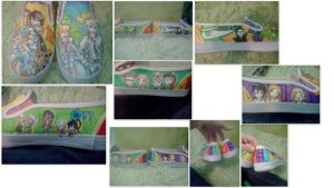 Soul Eater shoes by mermaidmelody26