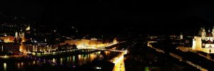 salzburg night panorama by DoWhoRanZone